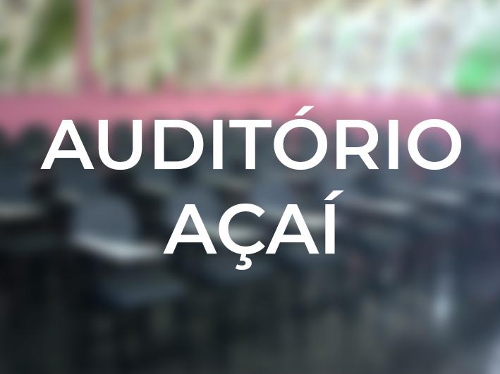 Auditório Açaí