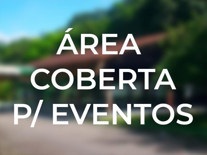 Área coberta para eventos