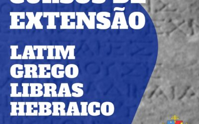 Faculdade Católica de Belém abre novas turmas para os cursos de extensão em Libras, Grego, Hebraico e Latim