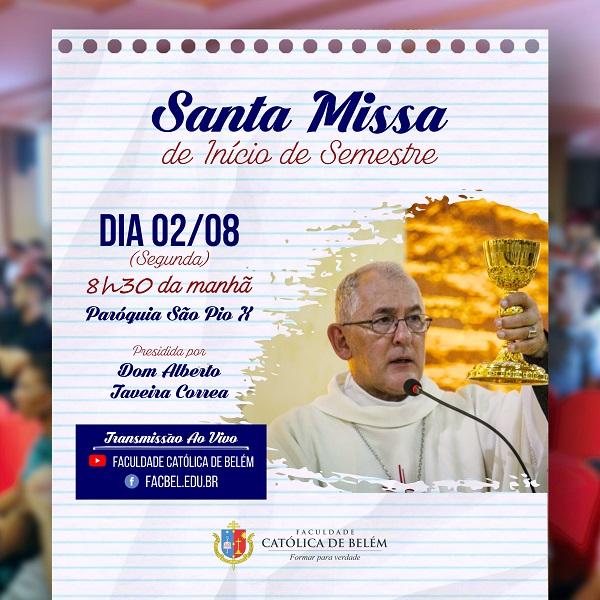 Santa Missa de início de Semestre