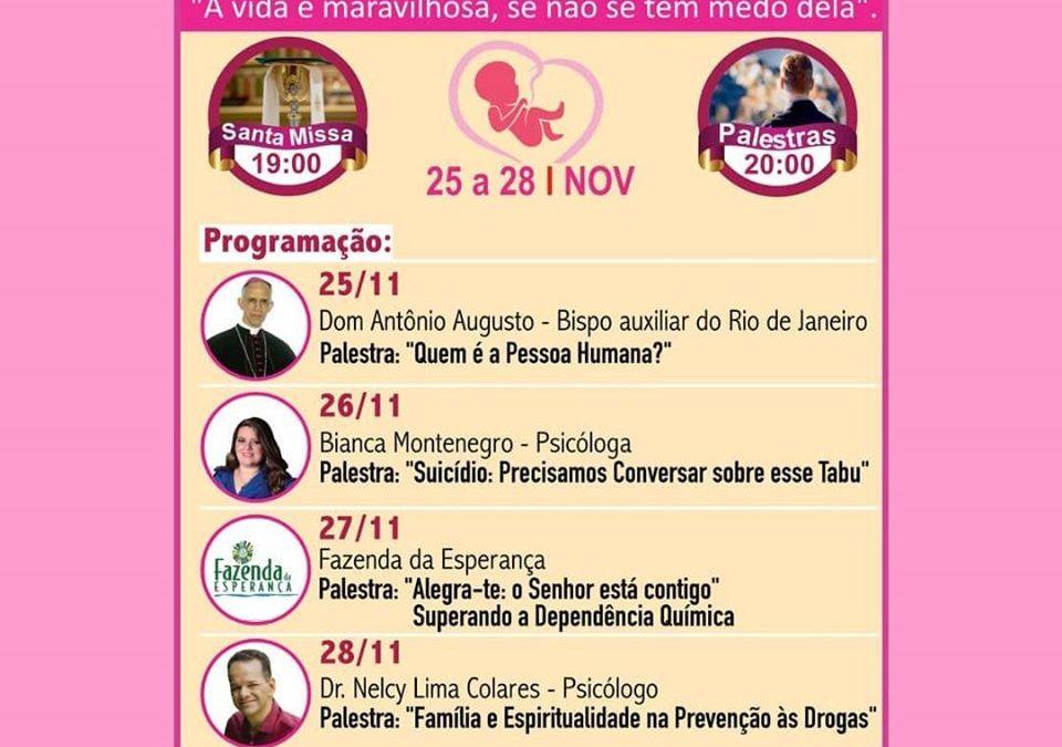 Pastoral Familiar em parceria com a Faculdade Católica de Belém realizam a Semana da Vida 2019